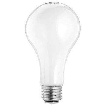 50/100/150W 120V A21 E26 3-Way Halogen White Bulb