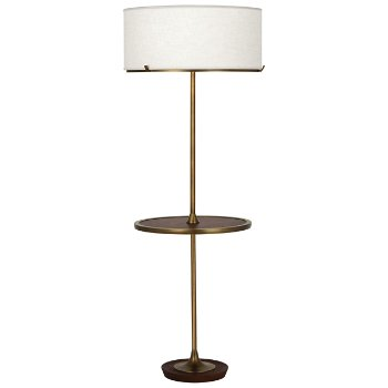 Edwin Floor Lamp with Table