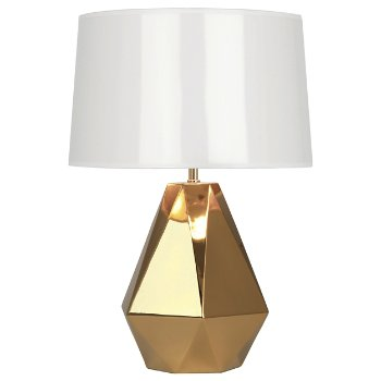 Gold Delta Table Lamp