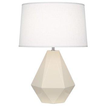 Delta Table Lamp (Bone) - OPEN BOX RETURN