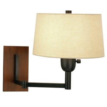 Wonton Single Arm Wall Swinger Lamp (Bronze) - OPEN BOX