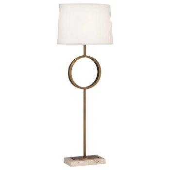 Logan Buffet Table Lamp (Aged Brass/Fondine) - OPEN BOX