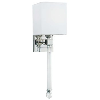 Crystal Tail Wall Sconce
