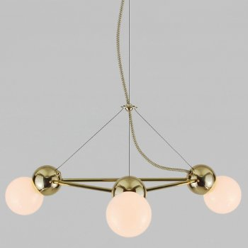 Lina 3-Light Triangle Pendant