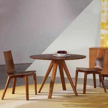 Avon Round Dining Table - Strata Top