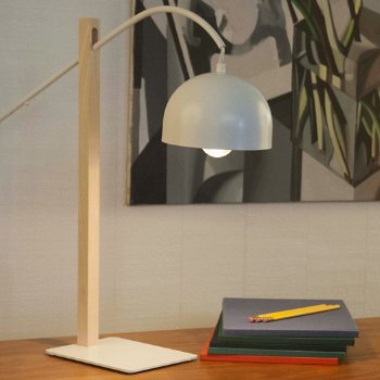 Bip Bip Table Lamp (White Lacquered) - OPEN BOX RETURN