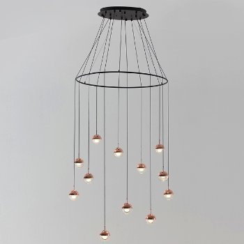 Dora LED Multi Light Pendant