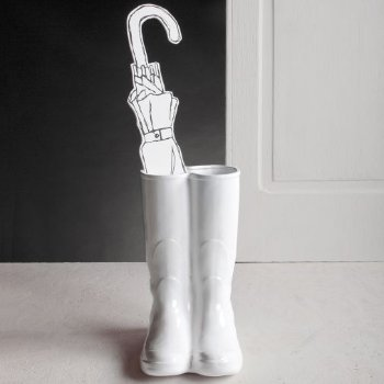 Rainboots Umbrella Stand