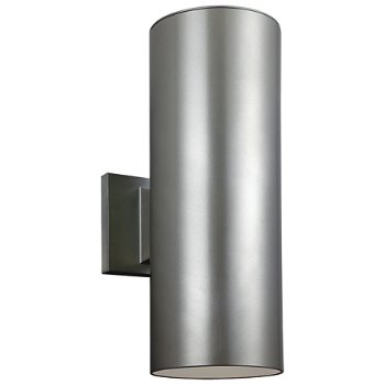 Outdoor Cylinders Two-Light Wall Sconce