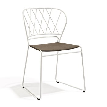 Reso Criss Cross Dining Chair with Fabric