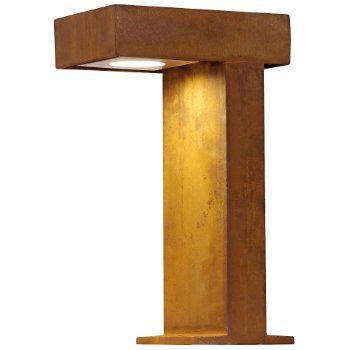 Rusty Pathlight Outdoor Bollard