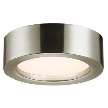 Puck Slim LED Flushmount (Satin Nickel/Small) - OPEN BOX