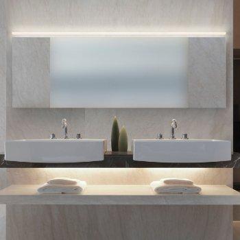 Stiletto LED Lungo Bath Bar (Satin White/48 Inch) - OPEN BOX