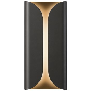 Folds Tall Indoor/Outdoor LED Wall Sconce