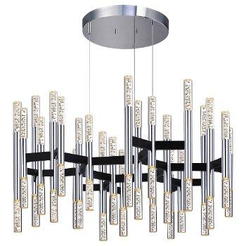 Champagne Sonata LED Chandelier (48 Lights) - OPEN BOX