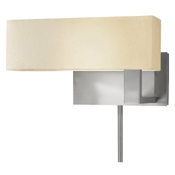 Mitra Compact Swing Left Wall Sconce (Nickel) - OPEN BOX