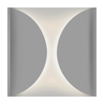 Folds LED Outdoor Wall Sconce (Textured Gray) - OPEN BOX