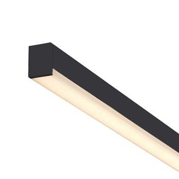 Stix Plus LED Bath Bar (Black/98 inch) - OPEN BOX RETURN