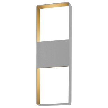 Light Frames LED Outdoor Wall Sconce (Gray/Large) - OPEN BOX