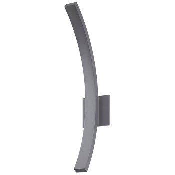 L'arc LED Outdoor Wall Sconce (Gray/Large) - OPEN BOX RETURN