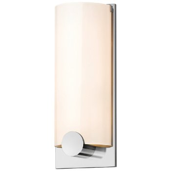 Tangent Round Wall Sconce (Polished Chrome) - OPEN BOX