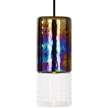 Flask Oil Long Pendant