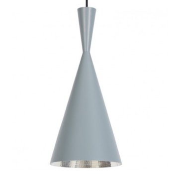 Beat Light Grey Pendant - Tall