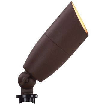 Bullet Flood Light (Powder Coated Bronze) - OPEN BOX RETURN