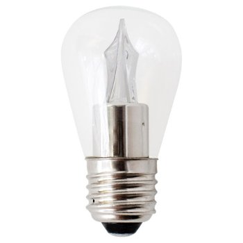2W 120V S14 E26 Utopia Frosted LED Bulb