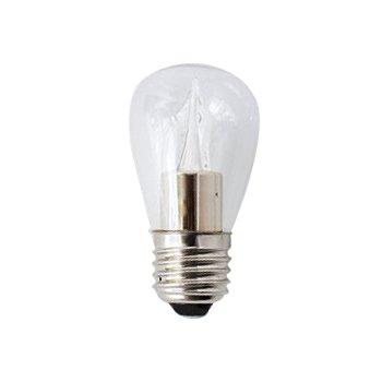 2W 120V S14 E26 Clear LED Bulb