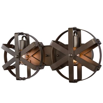 Reel 2-Light Wall Sconce