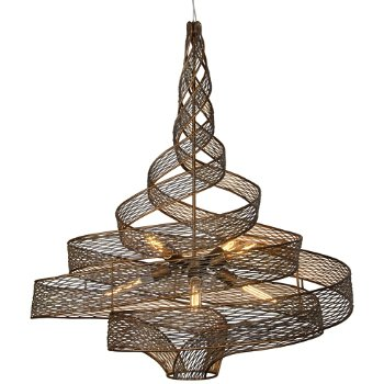 Flow 6-Light Large Twist Pendant