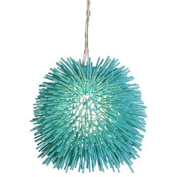 Urchin Mini Pendant (Aqua Velvet) - OPEN BOX RETURN