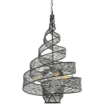 Flow 3-Light Twist Pendant