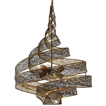 Flow 6-Light Twist Pendant