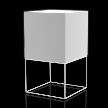 Vela RGB LED Cube Table Lamp