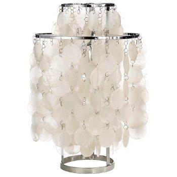 Fun Mother Of Pearl Table Lamp (Small) - OPEN BOX RETURN