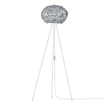 Eos Grey Floor Lamp