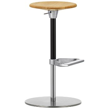 L Eau Adjustable Barstool By Calligaris At Lumens Com