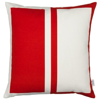 Rectangles/Circle Graphic Pillow