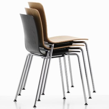 HAL Ply Tube Stacking Chair