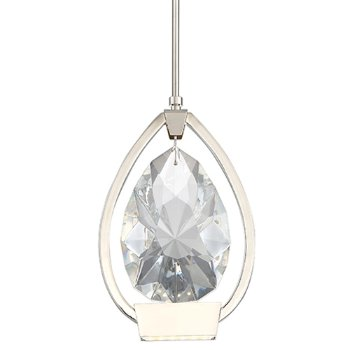 Sublime dweLED Teardrop Crystal Mini Pendant