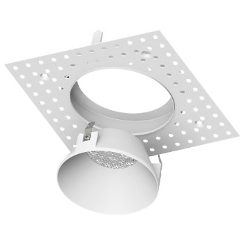 Aether 3.5 inch LED Round Trimless Spackle Frame