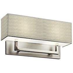 2 Light Fluorescent Wall Sconce