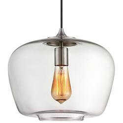 2260 Mini Pendant (Clear/Brushed Nickel) - OPEN BOX RETURN