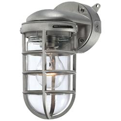 23264 Outdoor Wall Sconce (Satin Nickel) - OPEN BOX RETURN