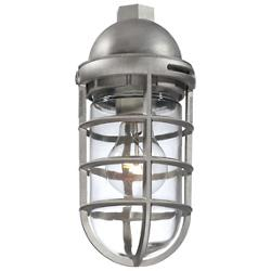 23266 Outdoor Pendant (Satin Nickel) - OPEN BOX RETURN