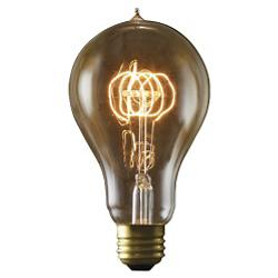 25W 120V A23 E26 Quad Loop Edison Bulb
