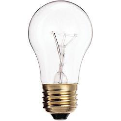25W 130V A15 E26 Appliance Clear Bulb