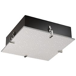 3form Clips 16 Inch Square Ceiling/Wall Light